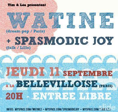 Watine + Spasmodic Joy in concert