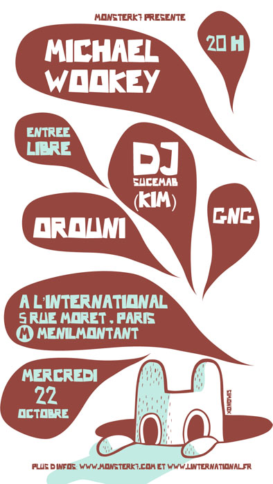 Michael Wookey + Orouni + GNG + DJ Sucemab in concert