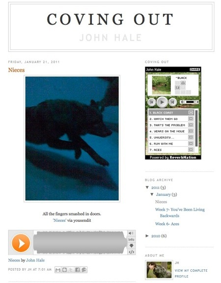 John Hale: Coving Out