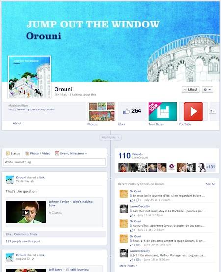 Orouni on Facebook