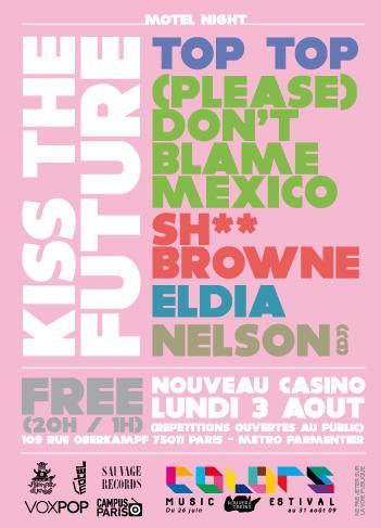 Top Top + (Please) Don't Blame Mexico + Sh** Browne + Eldia in concert