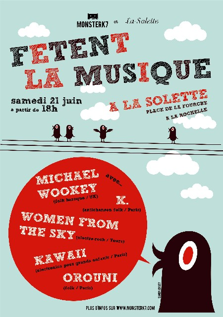 Orouni + Kawaii + Women From The Sky + K. + Michael Wookey