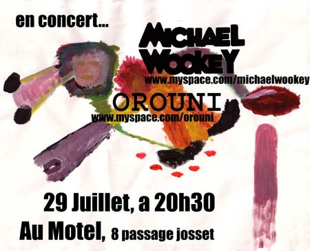 Michael Wookey + Orouni in concert