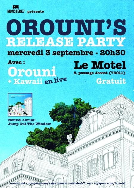 Orouni + Kawaii in concert