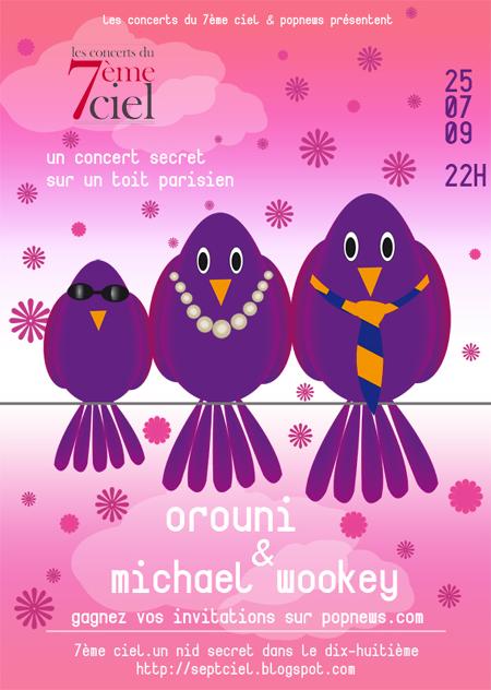 Orouni + Michael Wookey @ 7ème ciel