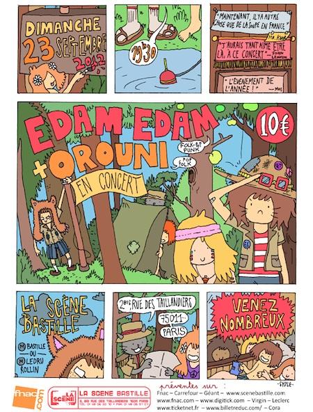 Edam Edam + Orouni in concert