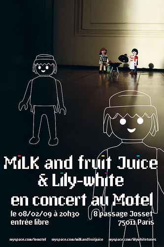 MiLK & Fruit Juice + Lily-white
