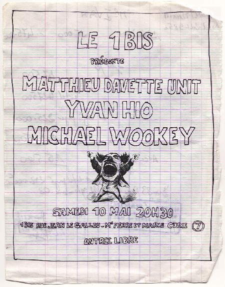 Michael Wookey in concert