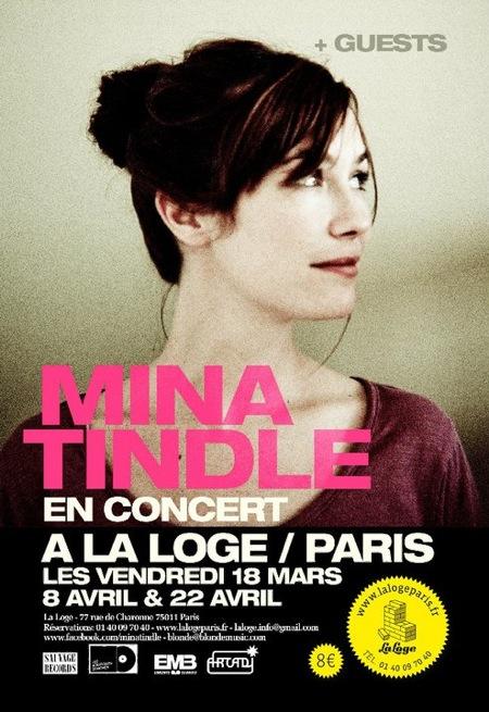 Mina Tindle @ La Loge