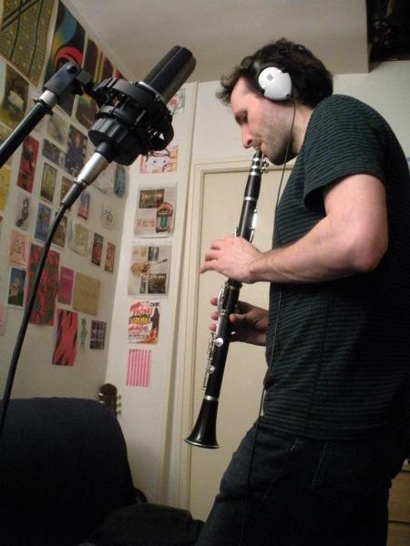 Recording clarinet