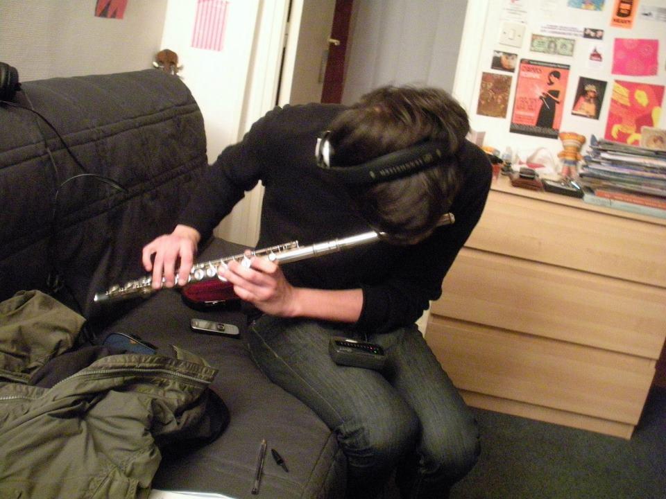 Recording flute