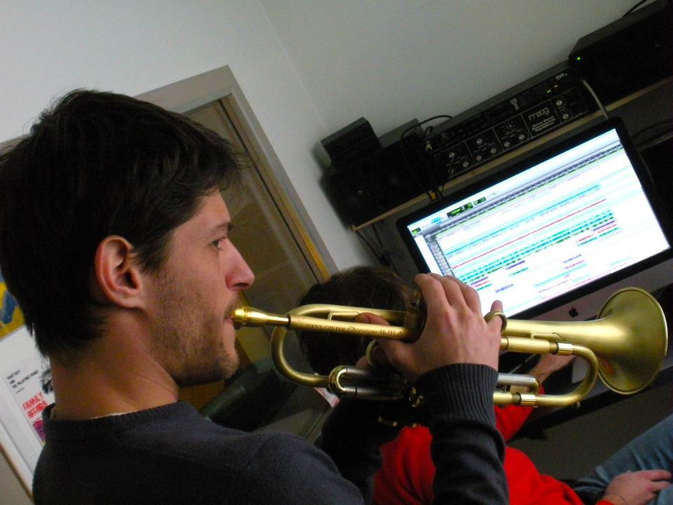 Recording trumpet