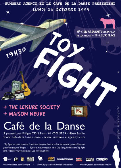 Toy Fight in concert