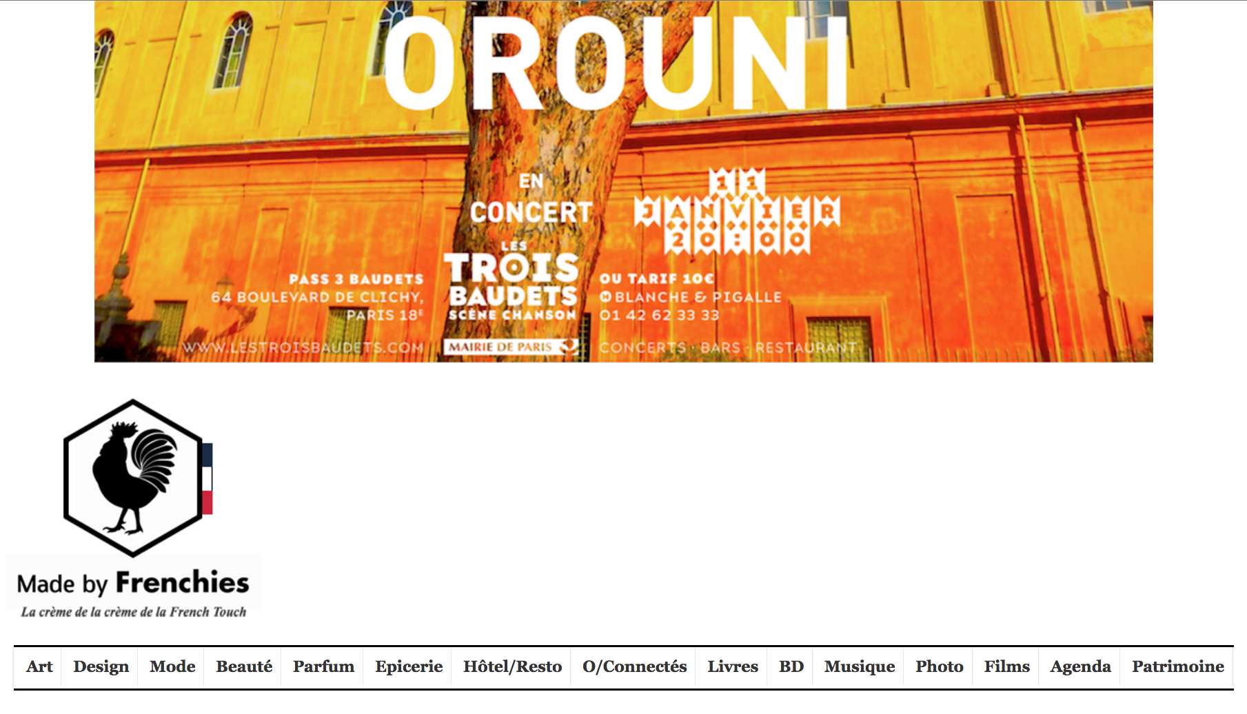 Orouni - Made By Frenchies