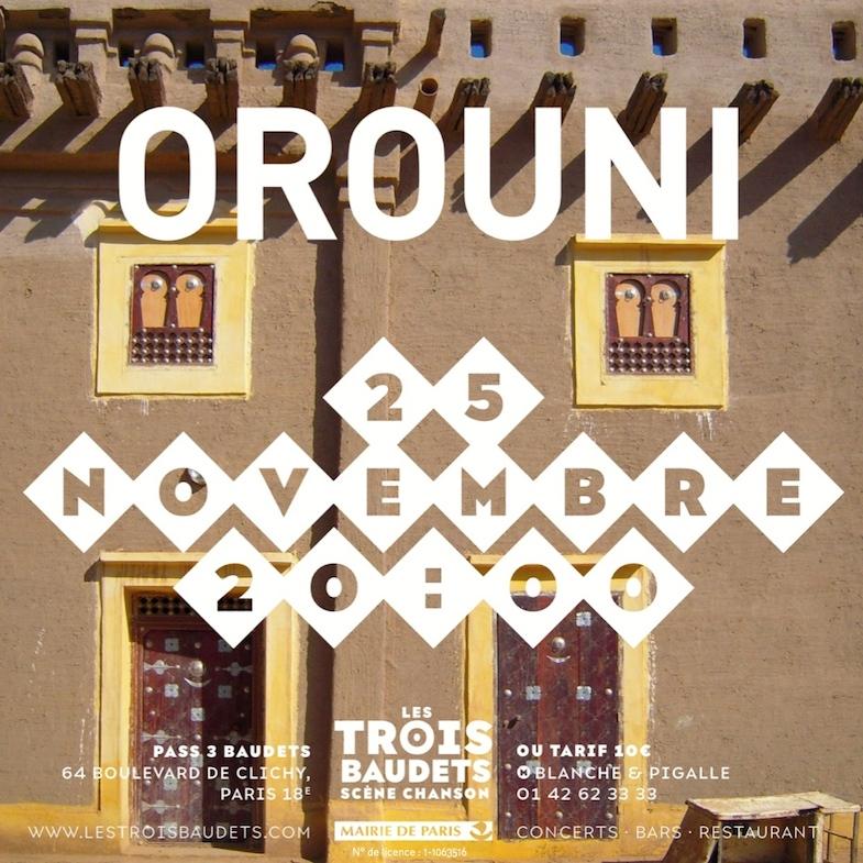 Orouni - Trois Baudets