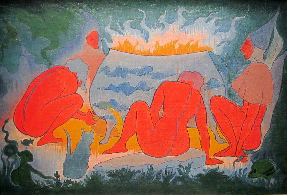 Paul-Elie Ranson - Les sorcières autour du feu