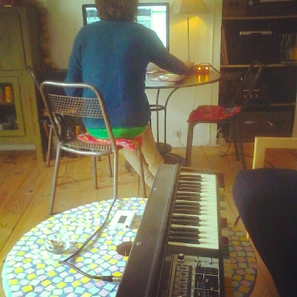 Recording synths
