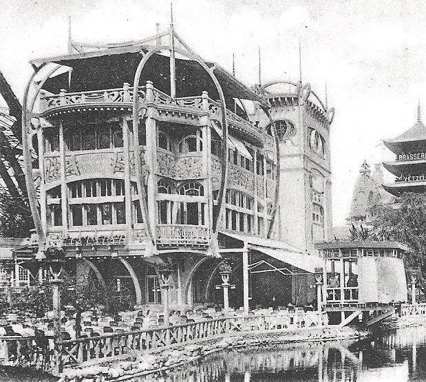 Restaurant Le Pavillon Bleu - Exposition universelle de 1900
