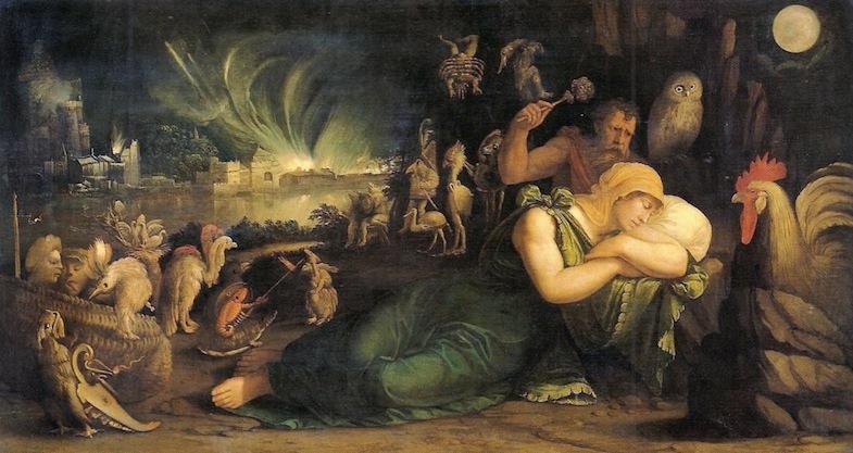 Battista Dossi - La notte