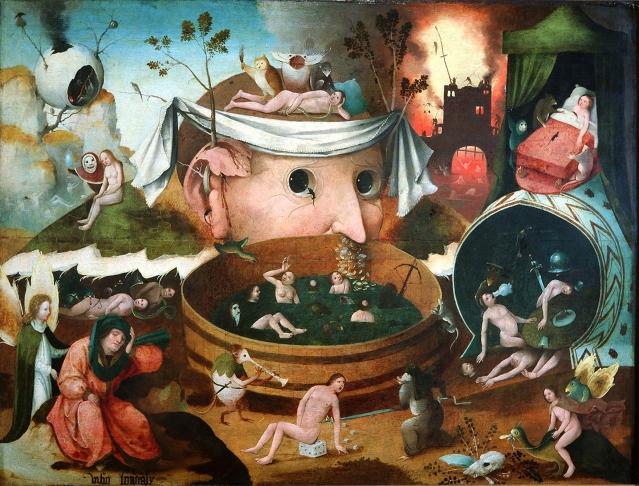 Ecole de Hieronymus Bosch - La Vision de Tondal