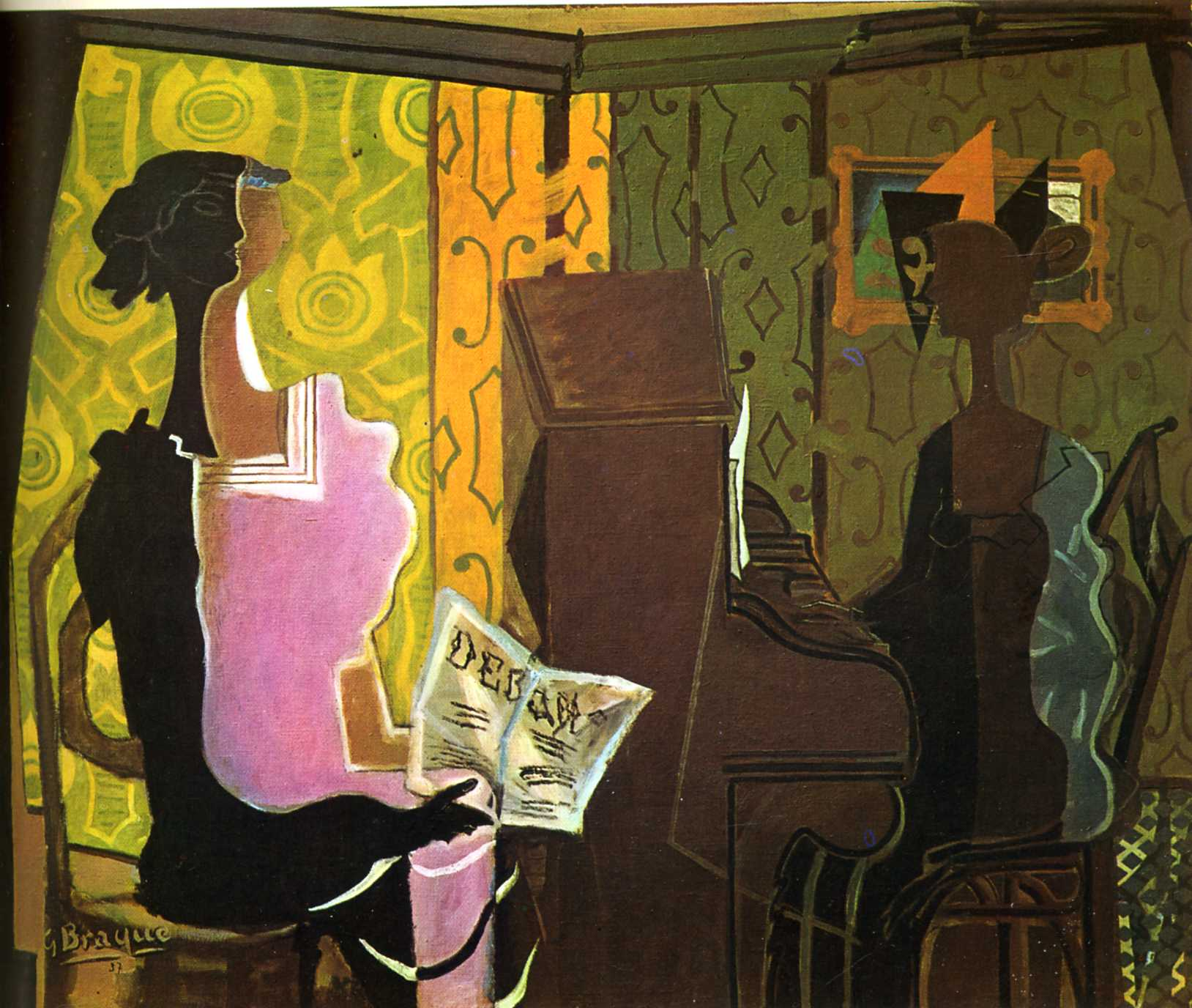 Georges Braque - Le duo