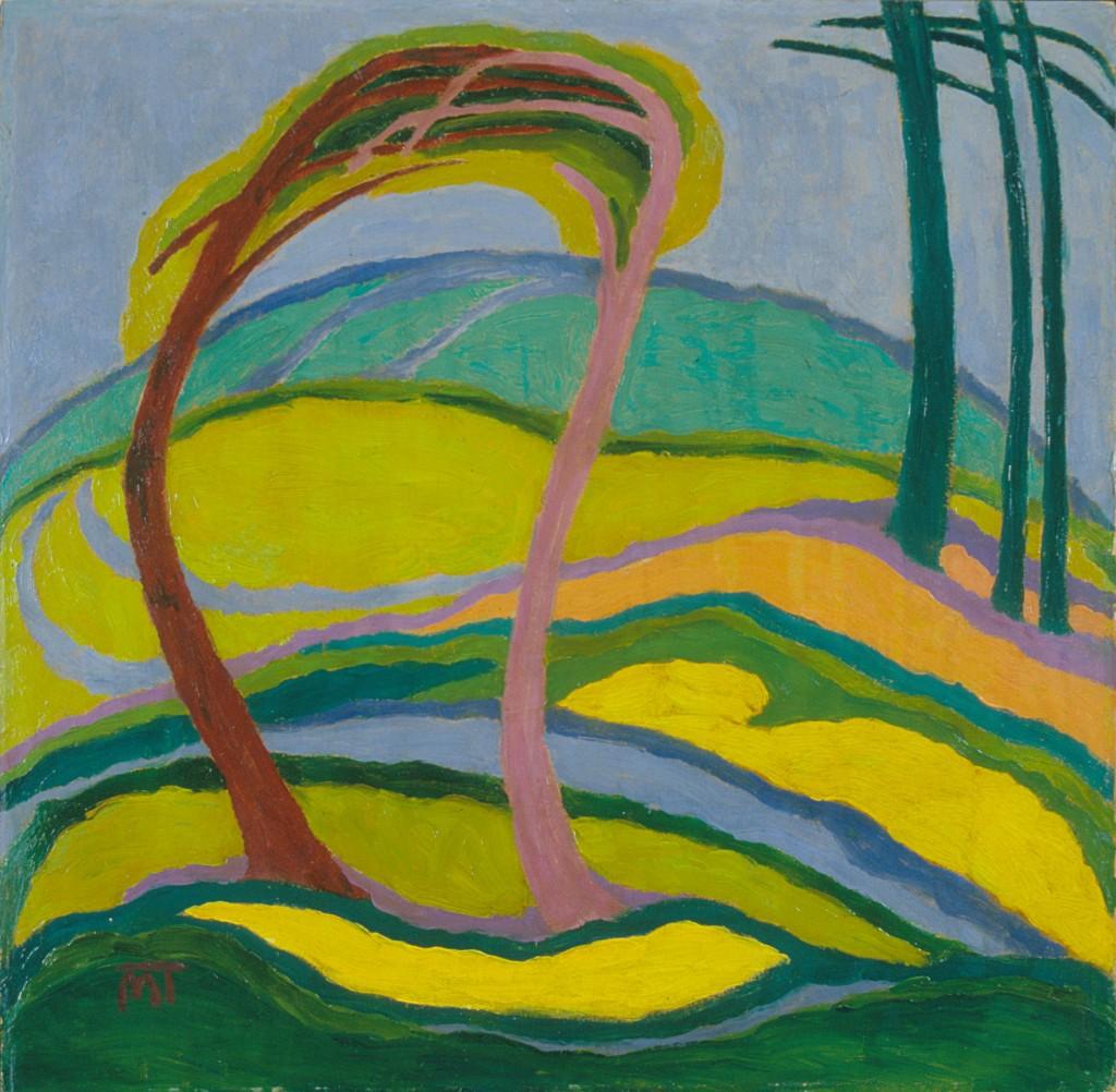 Janos Mattis Teutsch - Landscape