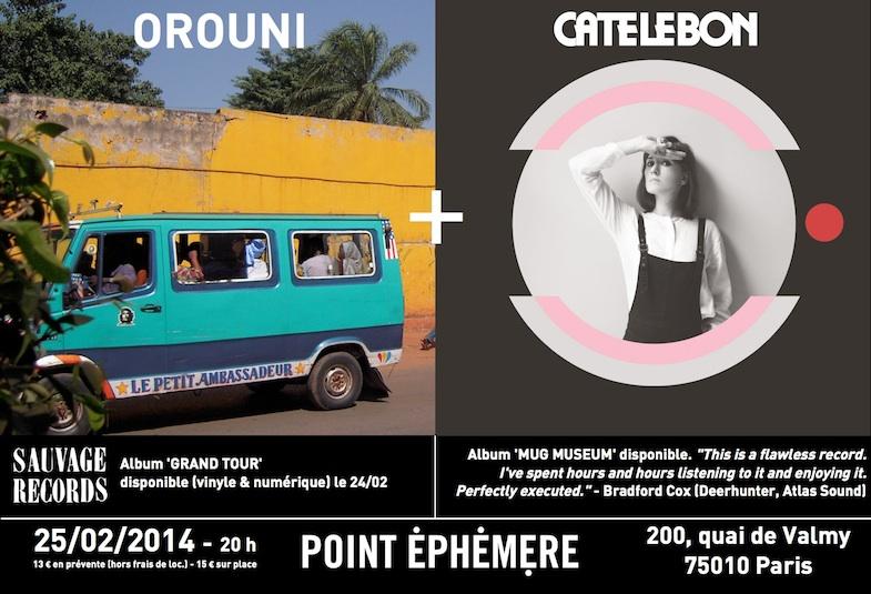 Flyer Orouni Cate Le Bon