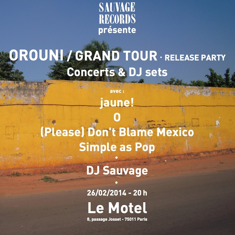 Release Party Orouni Grand Tour