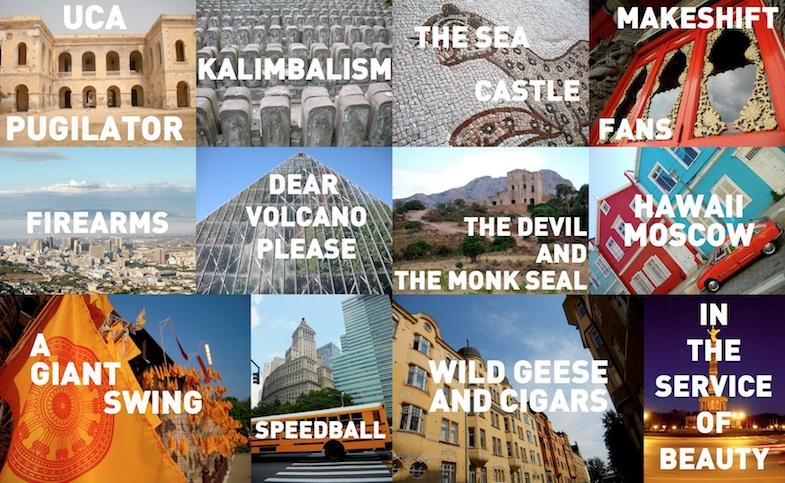 Orouni - Grand Tour - Tracklist
