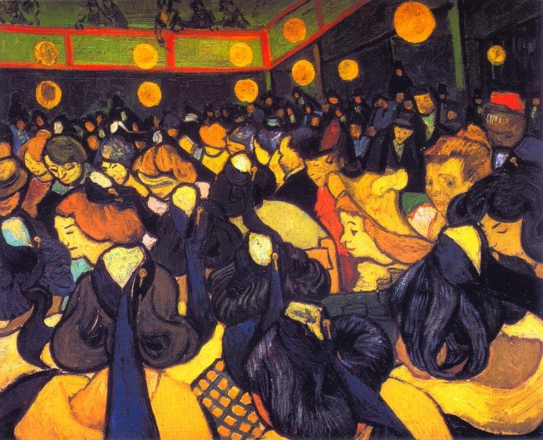 Vincent Van Gogh - La salle de danse à Arles