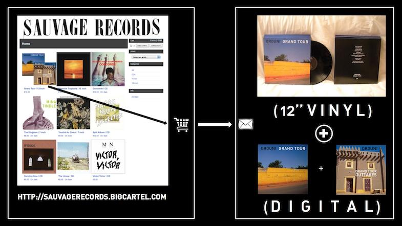 Grand Tour outtakes / Orouni / Sauvage Records