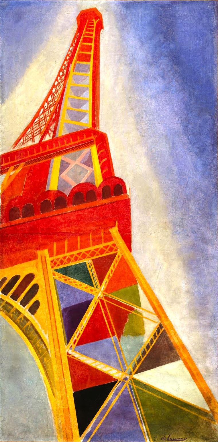 Robert Delaunay - La Tour Eiffel