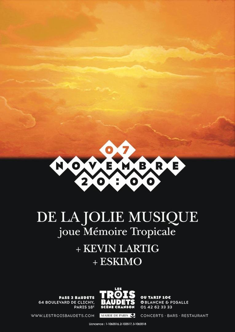 De La Jolie Musique @ Trois Baudets