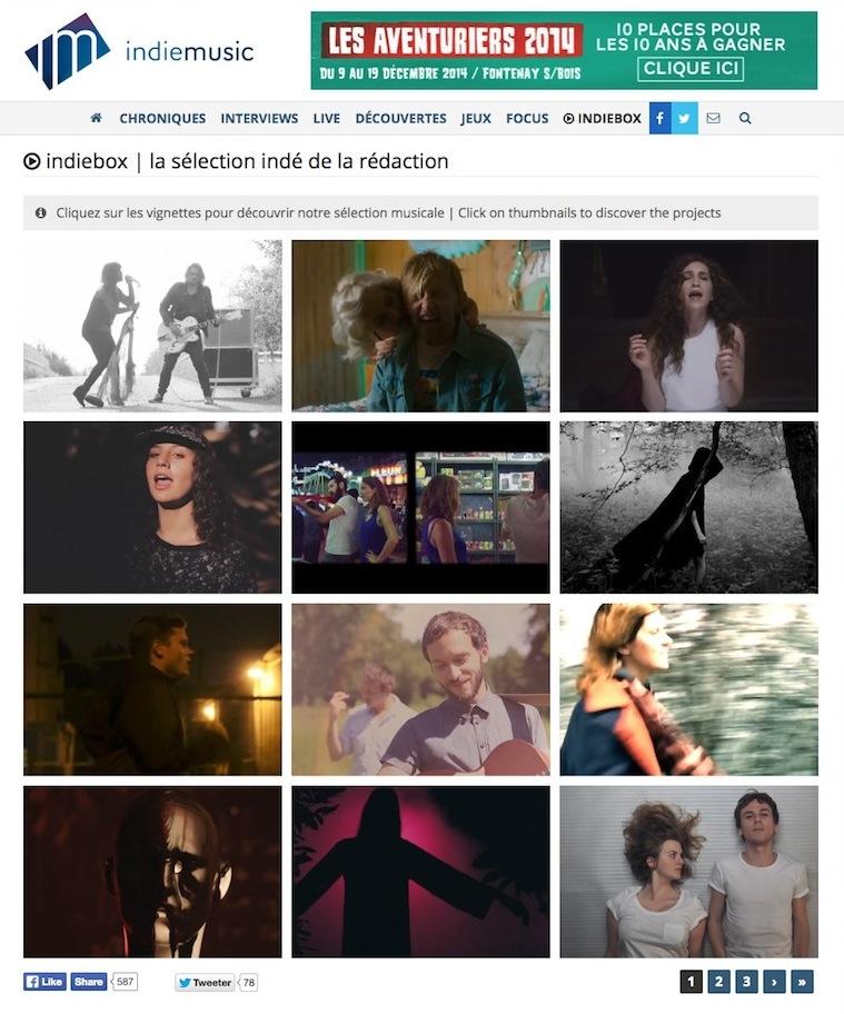 Orouni - Indie music / indie box