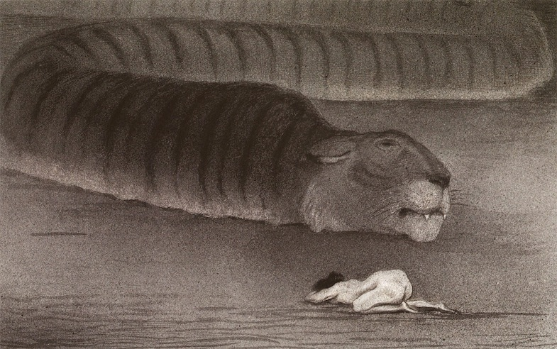 Alfred Kubin - The large boa
