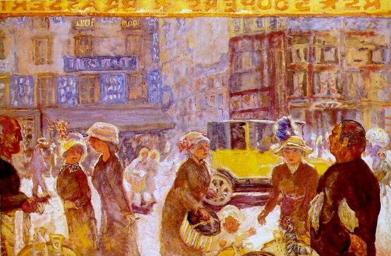 Bonnard - La place Clichy