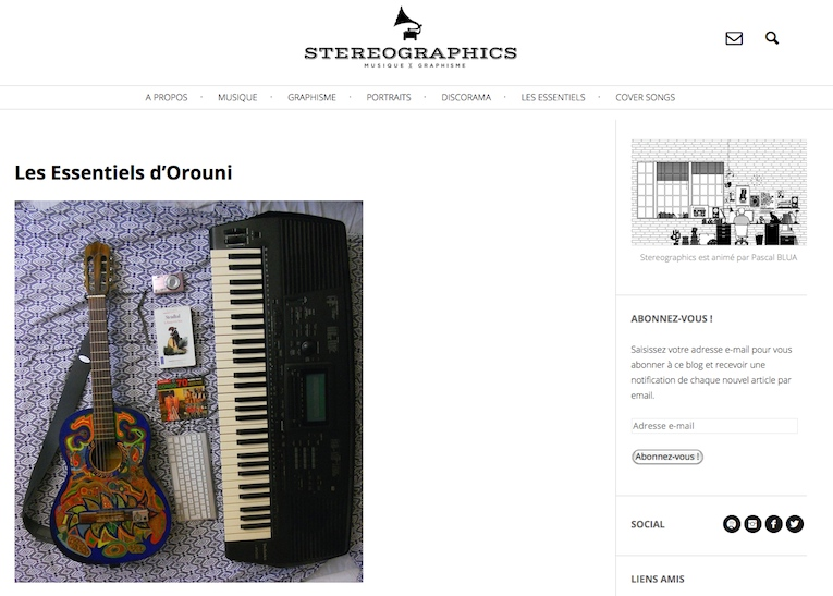 Orouni - Stereographics