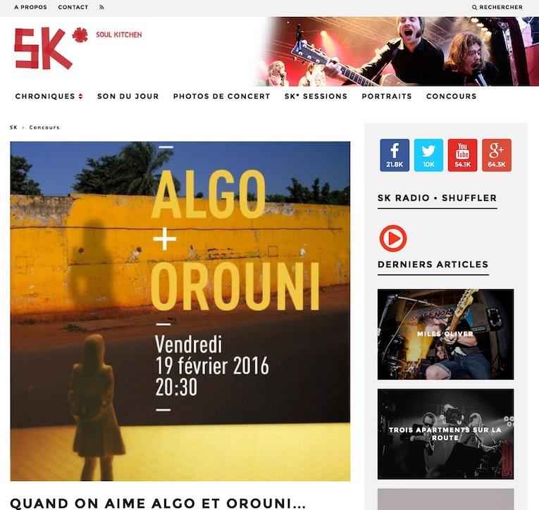 ALGO + Orouni - Soul Kitchen
