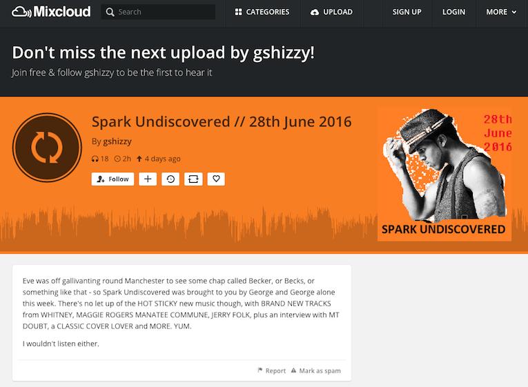 Orouni - Spark Undiscovered