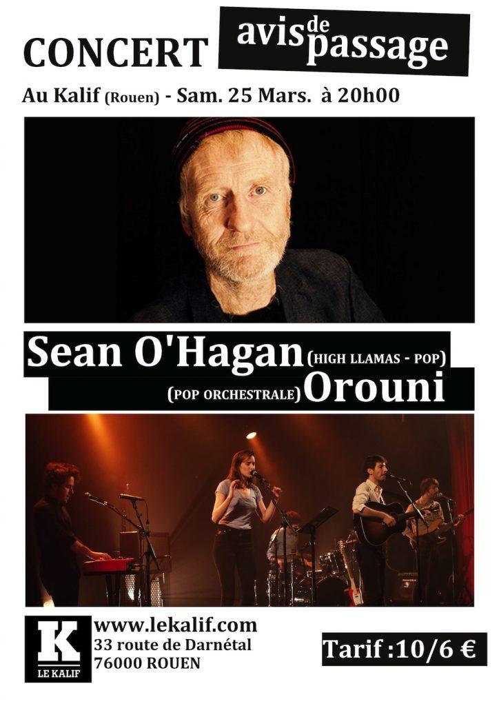 Orouni + Sean O'Hagan @ Le Kalif