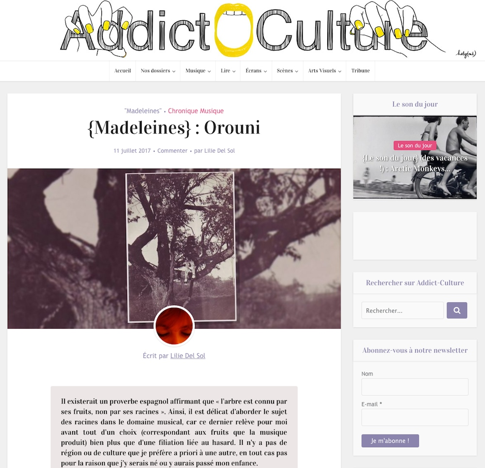 Orouni - Addict Culture