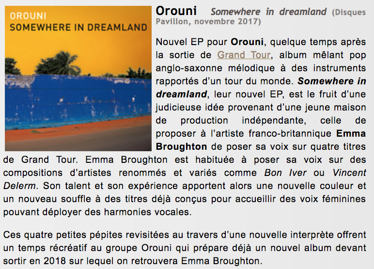Orouni - Froggy's Delight - Somewhere In Dreamland