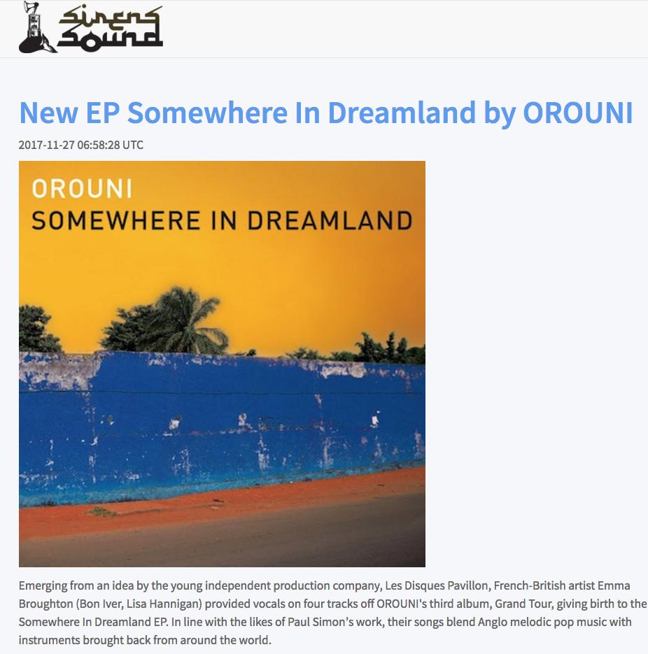 Orouni - The Sirens Sound