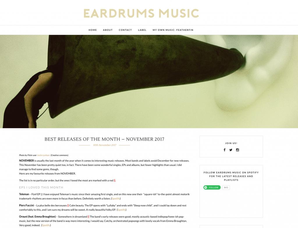Orouni - Eardrums music