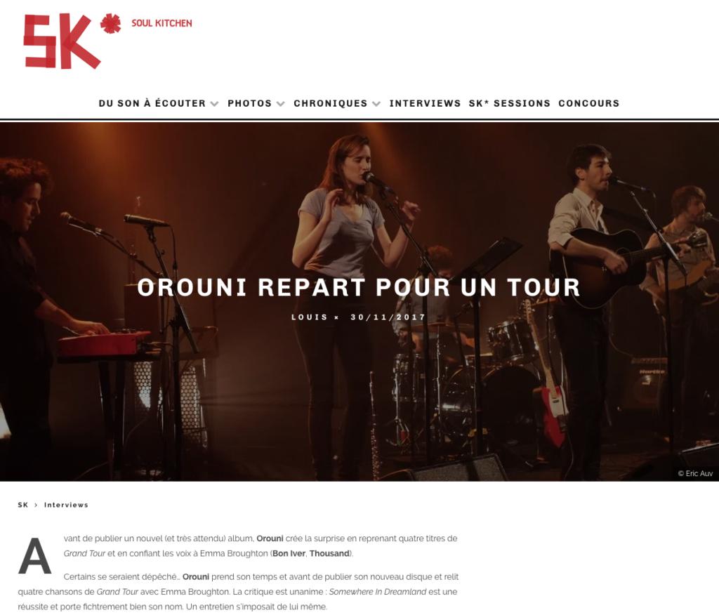 Orouni - Soul Kitchen