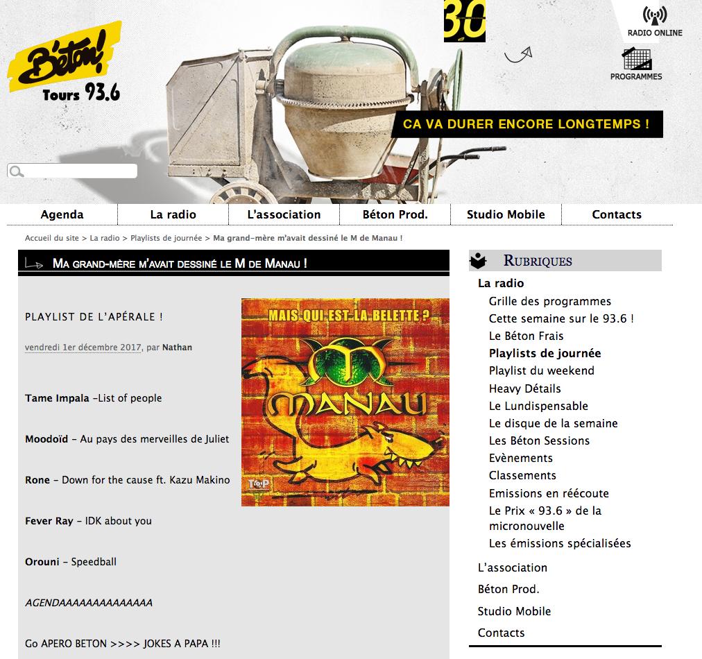 Orouni - Radio Béton