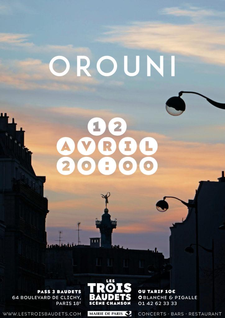 Orouni - Les Trois Baudets