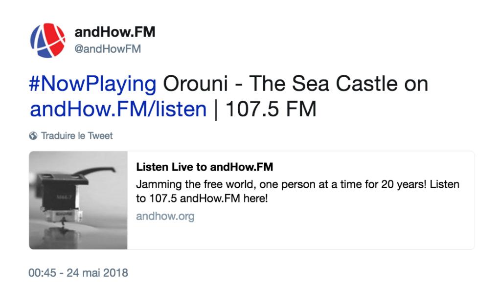 Orouni - AndHow.FM