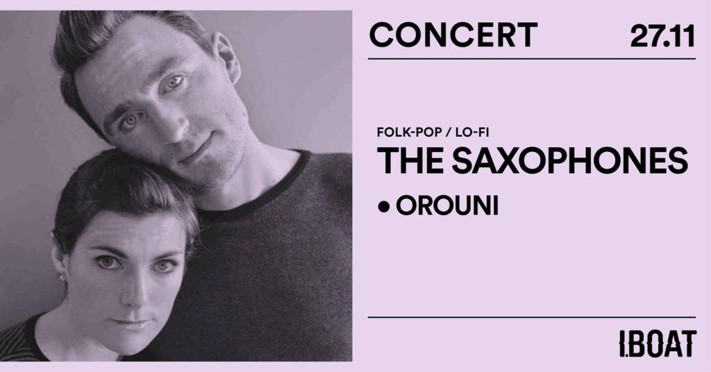 Orouni + The Saxophones - IBOAT Bordeaux