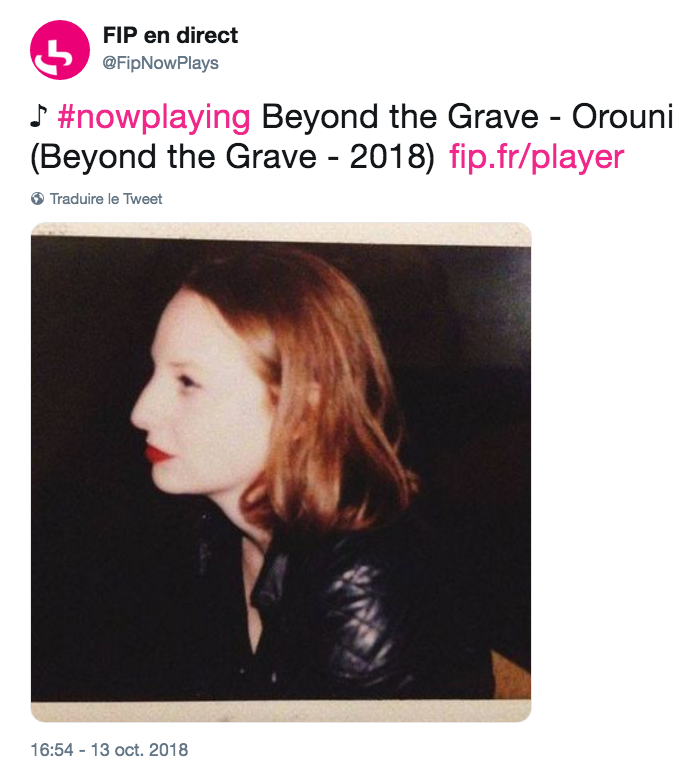 Orouni - Beyond The Grave - FIP